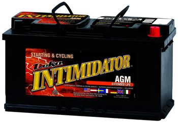 Deka 9A49 AGM Intimidator Battery (850 CCA)