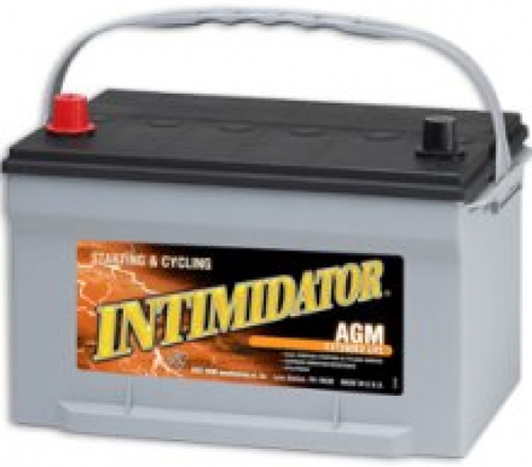Image of Deka 9A65 AGM Intimidator Battery (775 CCA)