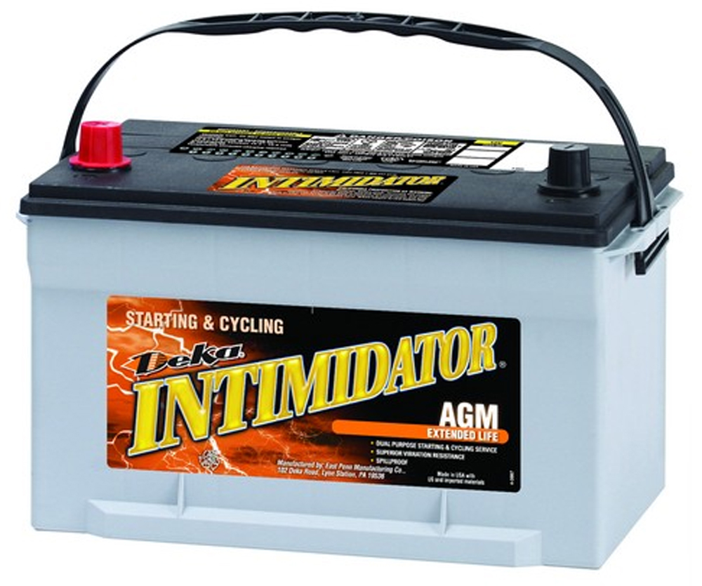 Image of Deka 9A65 AGM Intimidator Battery (750 CCA)