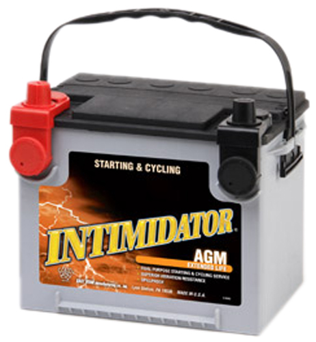 Image of Deka 9A75DT AGM Intimidator Battery (640 CCA)