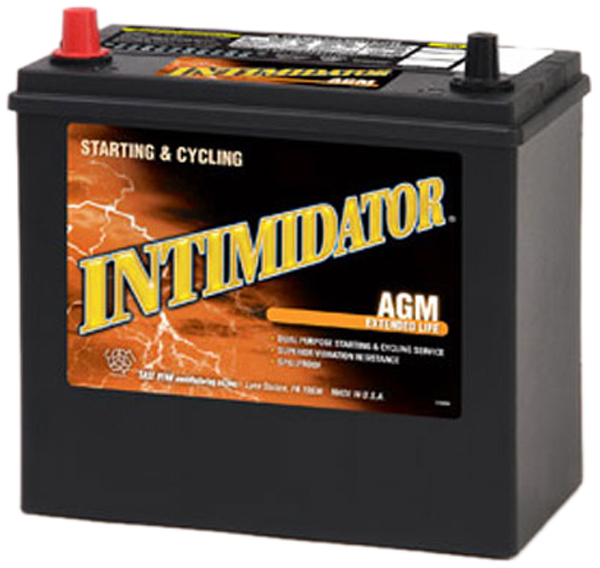 Image of Deka 9A51P AGM Intimidator Battery (775 CCA)