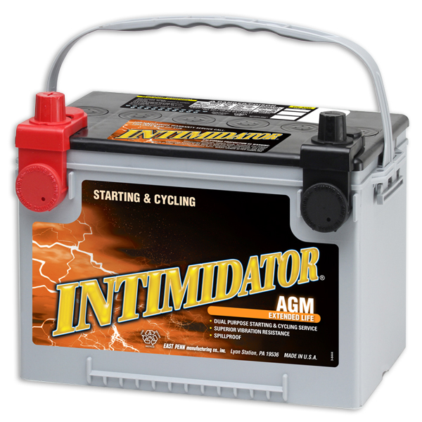 Image of Deka 9A78DT AGM Intimidator Battery (775 CCA)