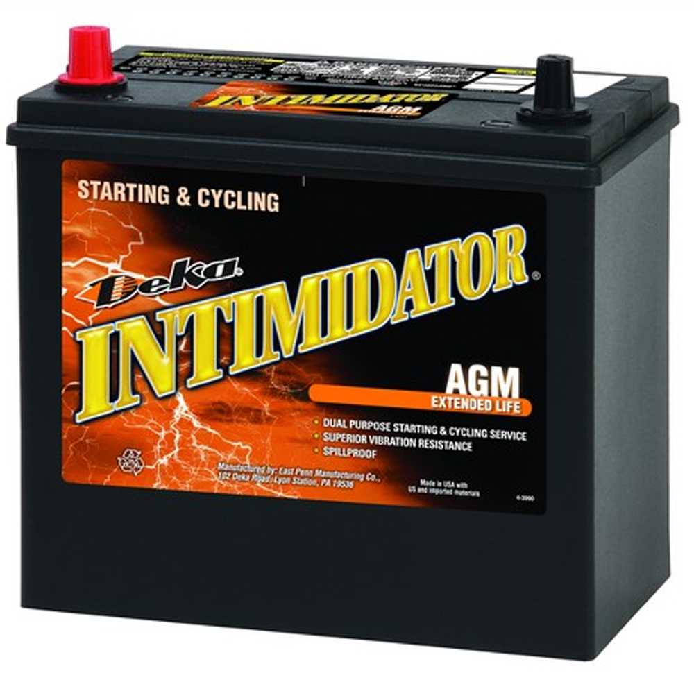 Image of Deka 9A51P AGM Intimidator Battery (325 CCA)