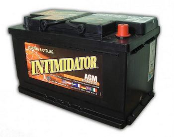 Image of Deka 9A94R AGM Intimidator Battery (800 CCA)