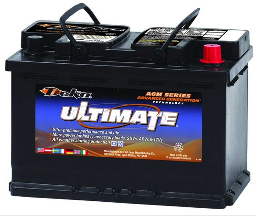 Image of Deka 9AGM48 AGM Intimidator Battery (760 CCA)