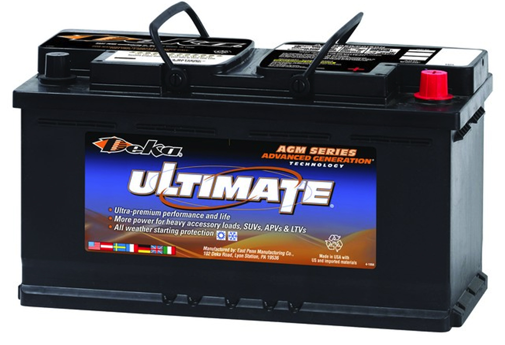 Image of Deka 9AGM49 AGM Intimidator Battery (850 CCA)
