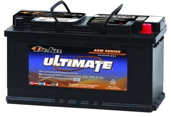 Deka 9AGM49 AGM Intimidator Battery (850 CCA)