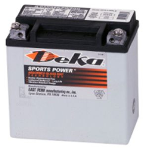 Deka ETX14 AGM Power Sport Battery (220 CCA)