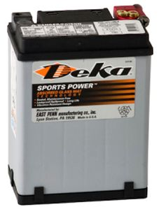 Deka ETX15 AGM Power Sport Battery (220 CCA)