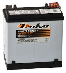 Deka ETX16 AGM Power Sport Battery (325 CCA)