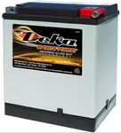 Deka ETX30LA AGM Power Sport Battery (400 CCA)