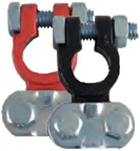 Image of Deka Heavy-Duty Epoxy Coated Terminals (2 Pack)