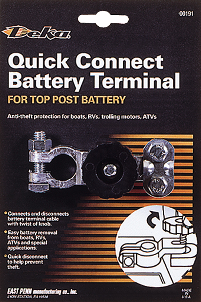 Image of Deka Quick Connect Battery Terminal