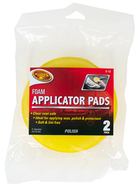 Image of Detailers Choice Foam Applicator Pads (Pair)