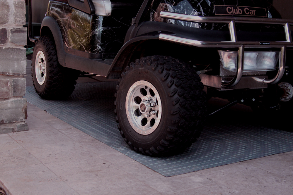 Image of Diamond Deck Rollout Flooring Golf Cart Mat