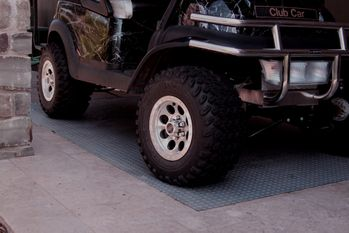 Diamond Deck Rollout Flooring Golf Cart Mat