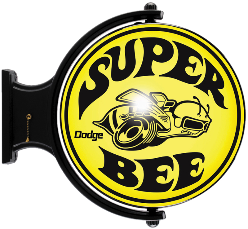 Image of Dodge Super Bee Revolving Wall Light