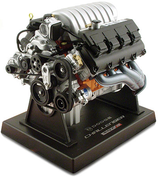 Dodge Challenger V8 Die-Cast Engine