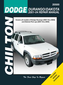 Dodge Durango & Dakota Chilton Repair Manual (2001-2004)