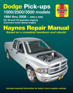 Dodge Full-size Pick-ups Haynes Repair Manual (1994-2008)