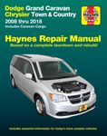 Dodge Grand Caravan & Chrysler Town & Country Haynes Repair Manual (2008-2018)