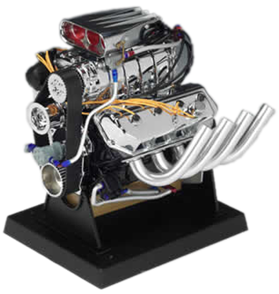 Dodge Hemi Top Fuel Dragster Die-Cast Engine