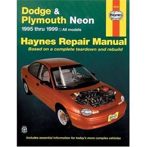 Dodge & Plymouth Neon Haynes Repair Manual (1995-1999)