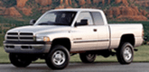 Dodge Ram 2500 Lund Elite Rivet Style Fender Flares (1994-2002)