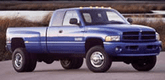 Dodge Ram 3500 Lund Elite Rivet Style Fender Flares (1994-2002)