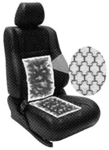 Image of Dual Electronic Heated Carbon Fiber Seat Pads (2 Pack)