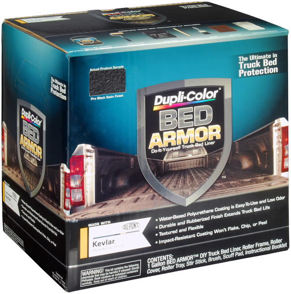 Image of Dupli-Color Bed Armor Truck Bed Liner Gallon Kit