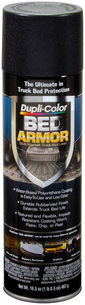 Image of Dupli-Color Bed Armor Truck Bed Liner Spray (16.5 oz)