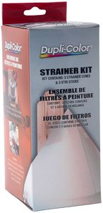 Dupli-Color Paint Shop Strainer Kit