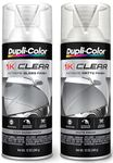 Duplicolor 1K Clear Finish Spray Paint (12 oz.)