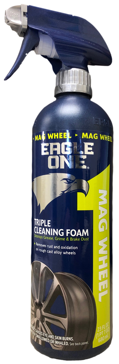 Image of Eagle One Triple Cleaning Foam Mag Wheel Cleaner (23 oz.)