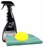 Eagle One Superior NanoWax Spray (23 oz.), Microfiber Cloth & Foam Pad Kit