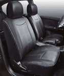 Saddleman Custom Fit Leatherette Seat Covers