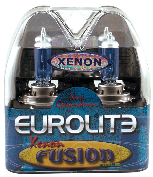 Image of Eurolite Xenon Fusion 893 Super Blue Headlight Bulbs (Pair)