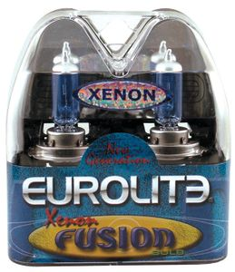 Eurolite Xenon Fusion 893 Super Blue Headlight Bulbs (Pair)