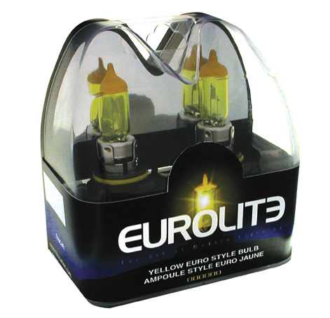 Image of Eurolite Yellow Euro Style 893 Xenon Headlight Bulbs (Pair)