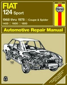 Fiat 124 Sport Coupe & Spider Haynes Repair Manual (1968-1978)