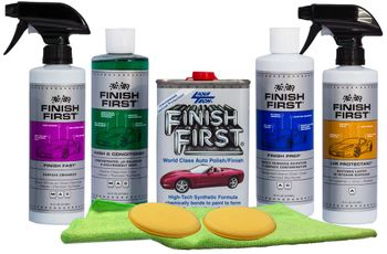 Finish First Complete Car Care Wash & Wax Kit