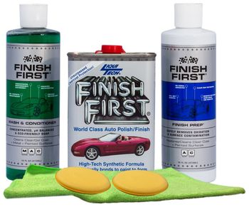 Finish First Wash, Prep & Wax Kit