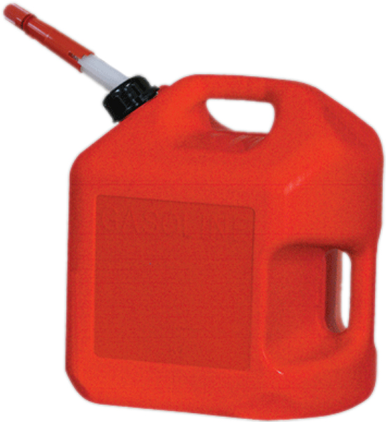 Image of Five Gallon CARB Plastic Gas Can