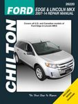 Ford Edge & Lincoln MKX Chilton Repair Manual (2007-2014)