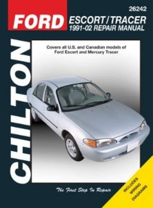 Ford Escort & Mercury Tracer Chilton Repair Manual (1991-2002)
