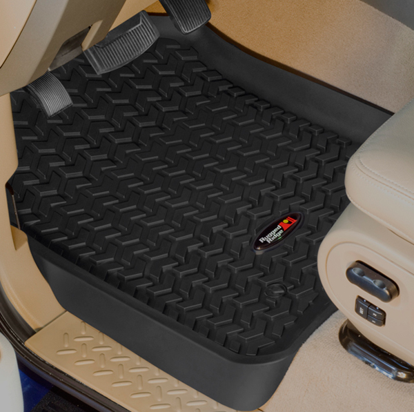 Ford Expedition F-150 SuperCrew & Lincoln Blackwood Navigator Front All Terrain Floor Liners-Pair (1997-2003)