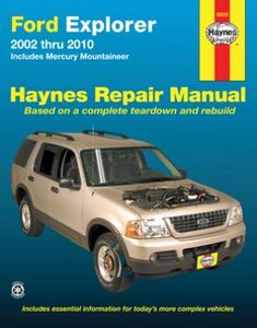Ford Explorer & Mercury Mountaineer Haynes Repair Manual (2002-2010)
