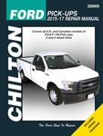 Ford F-150 Chilton Repair Manual (2015-2017)