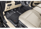 Ford F-150 Front Black All Terrain Floor Liners - Pair (2015-2018)